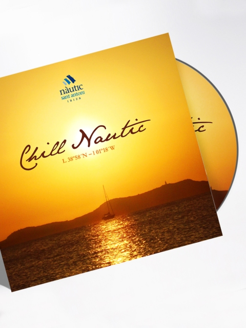 Club Nautico - Chill Nautic CD Coverart Designed By Maximiliano Guzmán Wilkendorf