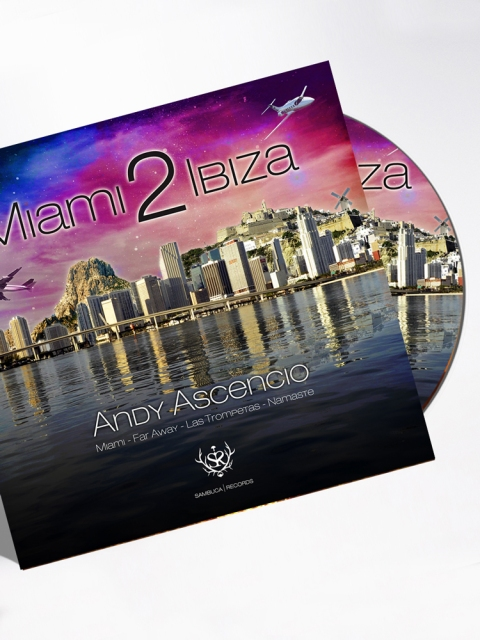 Miami 2 Ibiza CD COverart Andy Ascencio Designed By Maximiliano Guzmán Wilkendorf