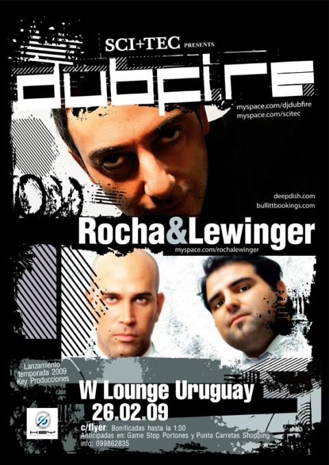 Dubfire Rocha & Lewinger Uruguay