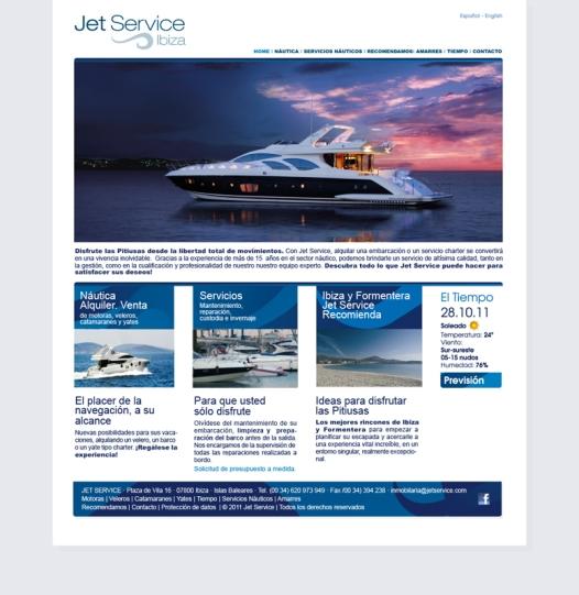 Jet Service Web