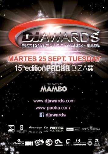 Pacha Ibiza DJ Awards Flyer Designed By Maximiliano Guzmán Wilkendorf