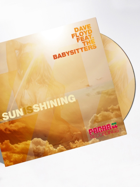 Pacha Recordings Sun is Shining CD Coverart Designed By Maximiliano Guzmán Wilkendorf