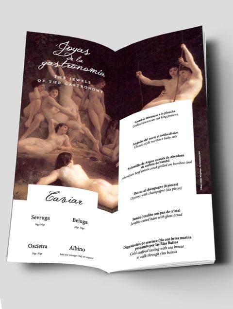 Carta Lío Joyas de la Gastronomía Designed By Maximiliano Guzmán Wilkendorf