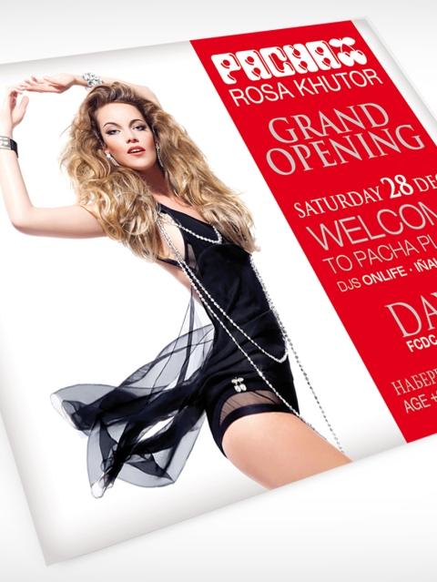 Pacha Rosa Khutor Opening Invitation Designed By Maximiliano Guzmán Wilkendorf