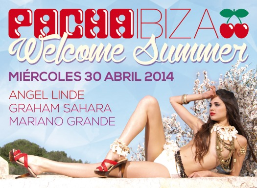 Pacha Ibiza Welcome Summer Invitation Designed By Maximiliano Guzmán Wilkendorf