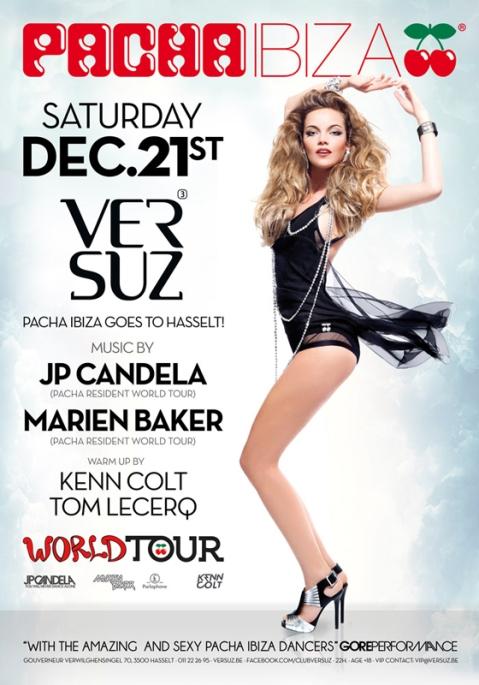 Pacha Ibiza World Tour Belgica Versuz