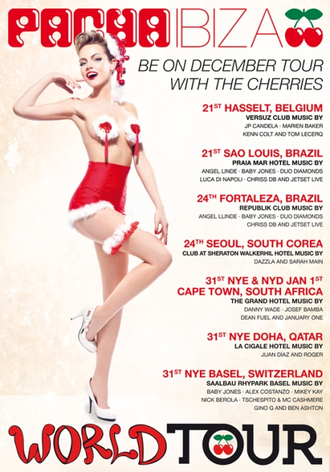 Pacha Ibiza World Tour December