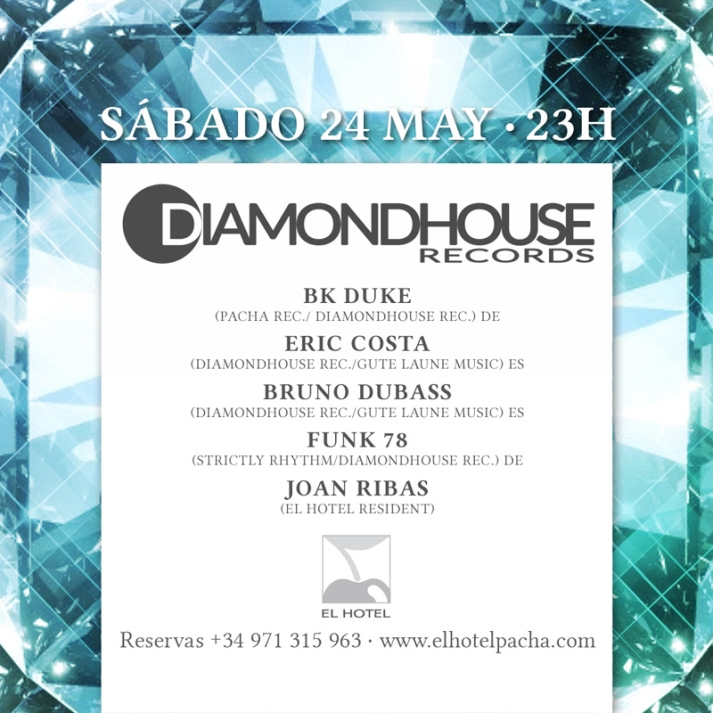 El Hotel Pacha Diamond House Records