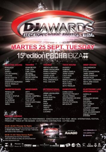 Pacha Ibiza Dj Awards