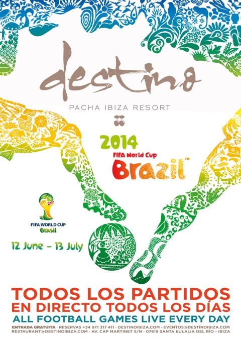 Destino Fifa World Cup Designed By Maximiliano Guzmán Wilkendorf