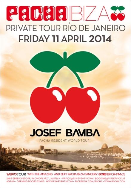 Pacha Ibiza World Tour Private Tour Río de Janeiro