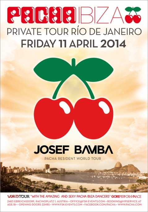 Pacha Ibiza World Tour Private Tour Río de Janeiro