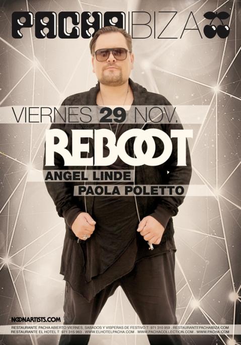 Pacha Ibiza Reboot Poster