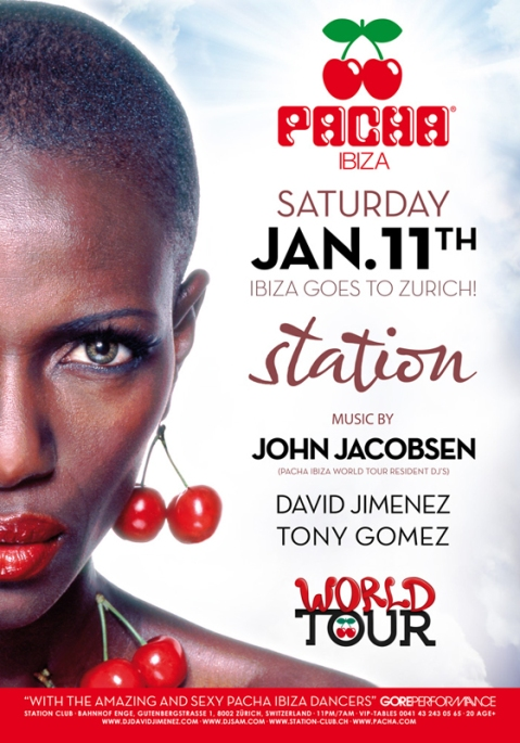 Pacha Ibiza World Tour Zurich Station