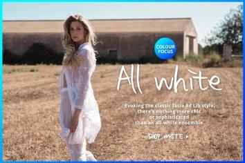 White Ibiza Hot Color Focus Designed By Maximiliano Guzmán Wilkendorf