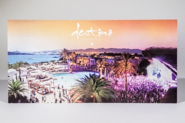 Destino Pacha Ibiza resort Opening Invitation Designed By Maximiliano Guzmán Wilkendorf