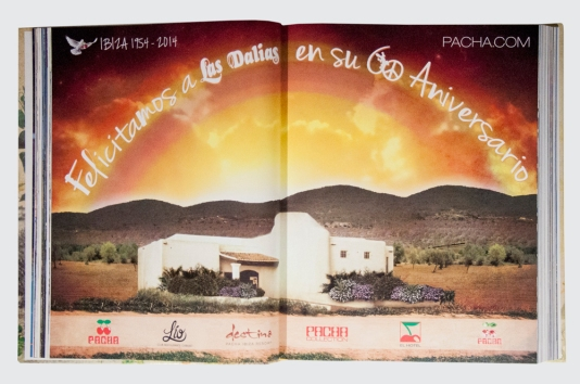 Pacha Group greeting Advertisng Las Dalias Book Designed By Maximiliano Guzmán Wilkendorf