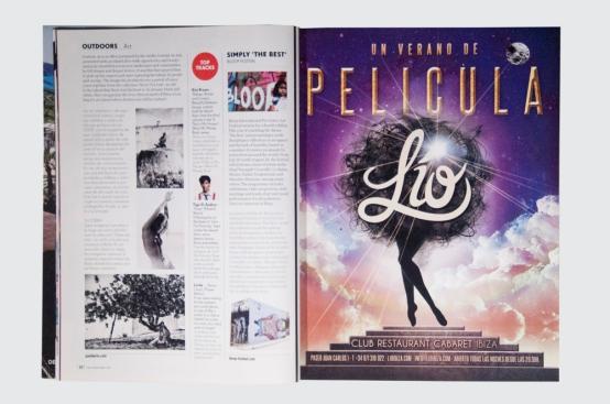 Lío Advertising Pacha Magazine Designed By Maximiliano Guzmán Wilkendorf