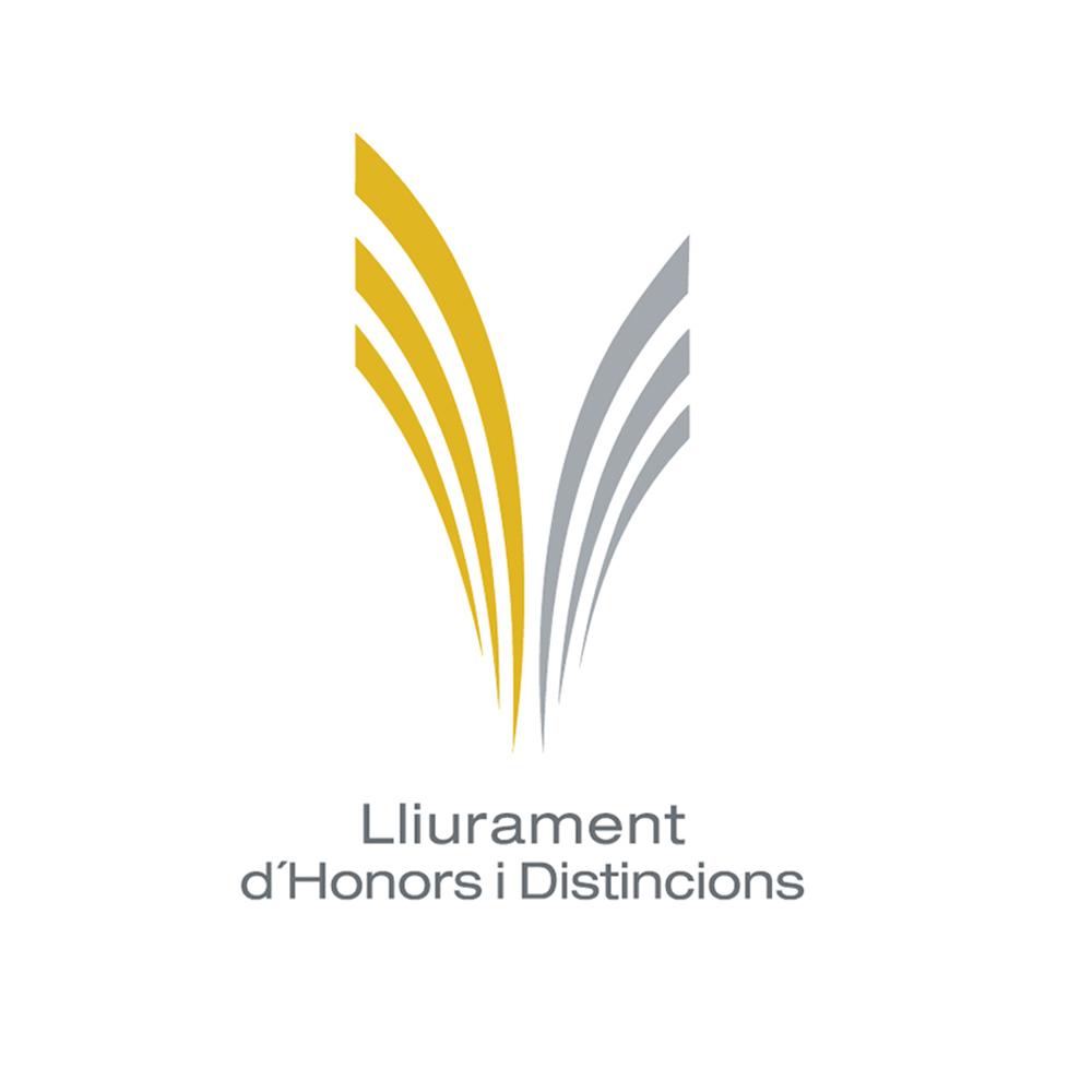 Lliurament d'Honors i Distincion Logo Designed By Maximiliano Guzmán Wilkendorf