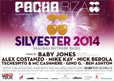 Pacha Ibiza Silvester Advertising Designed By Maximiliano Guzmán Wilkendorf